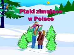 Ptaki zimujące w Polsce> Education, Winter, Fictional Characters, Speech Language Therapy, Winter Time, Onderwijs, Fantasy Characters, Learning, Winter Fashion