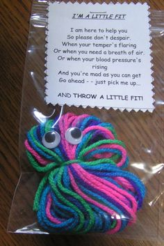 A LITTLE FIT Saying - HANDMADE - Gift - Stocking Filler - Gag Gift