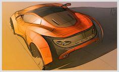 #car #sketching #rendering