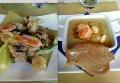 Antipasto e fritturina di pesce - Articolo: Piatti toscani, bloggers e relax alla Tenuta La Lupa