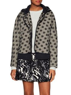 Stalh Hooded Coat from Style Staples: Outerwear on Gilt