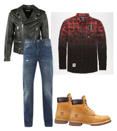 Untitled #25 by zinchenko-sasha on Polyvore featuring polyvore Levi's Yves Saint Laurent men's fashion menswear clothing