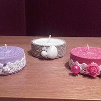 Hledání zboží: čajové svíčky / Vánoce / Svátky | Fler.cz Tea Lights, Candles, Make It Yourself, Crafts, Decor, Dekoration, Manualidades, Decoration, Tea Light Candles