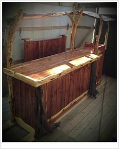Modern frontier log furniture on fb
