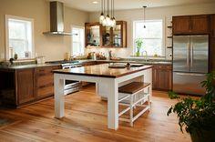 Kitchen Design by Cozy Kitchens, OBX, NC. Photography by ©Elizabeth Kiourtzidis - milepostportraits.com