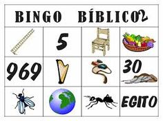 Resultado de imagem para bingo da biblia