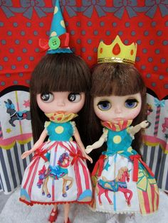 Blythe pony merry go around carousel circus queen by buyblythe, ฿500 ...