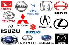 Japanese car brands logos