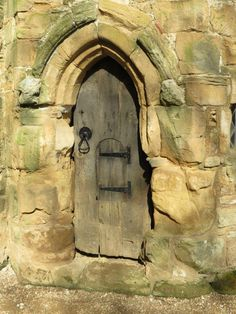 Door at Battle Abbey, East Sussex. Would be great illustration for an Advent sermon.