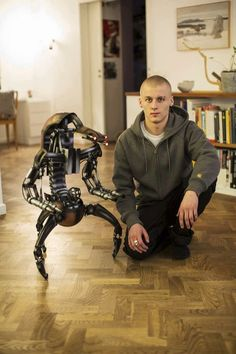 1-3 scale custom droideka by Sam Kohvakka