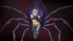 Monster Musume Rachnera, Monster Musume No Iru, Dope Cartoons, Dope Cartoon Art, Living With Monster Girls, Monster Museum, Animated Spider, Everyday Life With Monsters, Female Monster