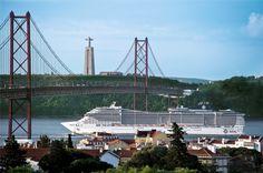#MSCDivina en Lisbon - Tagus River