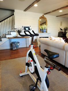 Raising A Farmhouse:Peloton Life Hack - My DIY Peloton ~ Everything you need to setup your at home spin class!