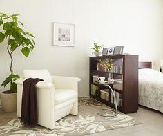 間仕切りにもなるオープンシェルフは見せる収納の代表格! 収納30選 家具・インテリアのIDC大塚家具