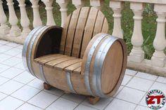 Fabrication d'une chaise barrique Instructions...