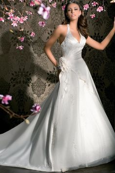 Just slightly more modest and it would be close to the dress I want!