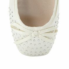 Perfect for your occasion wear, these ivory satin pumps from Debut have a diamante encrusted square toe with a small knotted bow on the trim. Bridal Flats, Satin Pumps, Debenhams, Occasion Wear, Baby Shoes, Slippers, Dance Shoes, Ivory, How To Wear