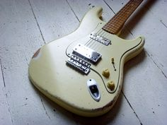 Ry Cooder's Coodercaster clone relic!