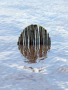 Environmental art installation by Fesson Ludovic