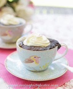 Mug Chocolate Cake (pastel de chocolate en una taza)