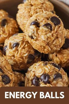 These no-bake Energy Balls are so easy to make and are the perfect make-ahead snack! Made with just 5 simple ingredients that you probably already have in your pantry, these healthy protein bites come together quickly making them an easy grab and go treat!