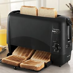 West Bend ® Quick Serve Toaster from Seventh Avenue ® Cool Kitchen Gadgets, Small Kitchen Appliances, Kitchen Items, Cool Kitchens, Kitchen Dining, Kitchen Stuff, Kitchen Things, Kitchen Tools, Awesome Gadgets