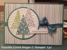 Festival of Trees Stampin' Up!