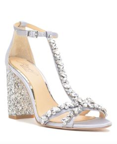 Featured Shoes: Badgley Mischka; Wedding shoes idea.