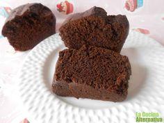 Receta de bizcocho de algarroba sin azúcar (y vegano) - La Cocina Alternativa