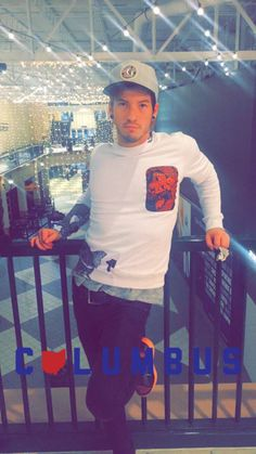 twentyonesnaps: Josh on Ashley Dun's snapchat - December 31st, 2015 he's at Easton!! Why was I not?