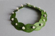 springtime necklace by sabine timm
