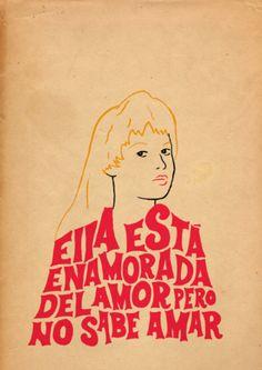 """""""Ella está..."""""""