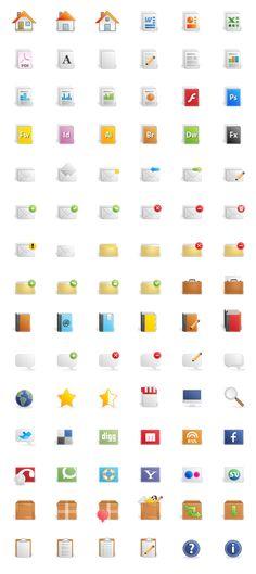 Freebie Release: Quartz Icon Set - via bit.ly/epinner