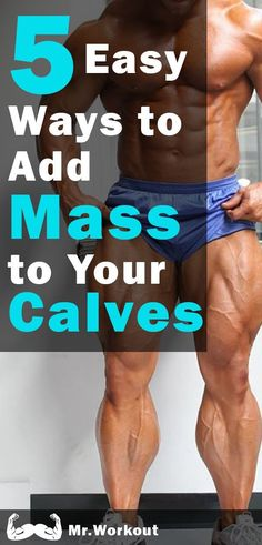 Legs/C Want bigger calves? But I have a way for YOU to get bigger calves in no time! Leg Workouts For Men, Leg Workout Women, Chest Workouts, Calf Workouts, Workout Tips, Workout Fitness, Calf Muscle Workout, Muscle Fitness, Mens Fitness