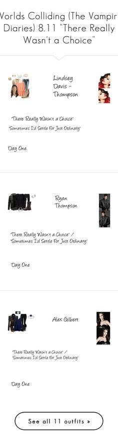"""Worlds Colliding (The Vampire Diaries) 8.11 ""There Really Wasn't a Choice"""" by mysticfalls1997 ❤ liked on Polyvore featuring Wet Seal, VILA, Vero Moda, Necessary Stone, Lucifer Vir Honestus, Diesel Black Gold, John Varvatos, Diesel, Dallas Prince and men's fashion"