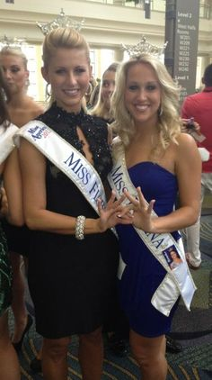 miss indiana & miss florida throw what they know! ♛