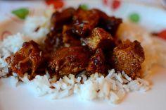 Slow Cooker Honey-Sauced Chicken - Weight Watchers 6 Points