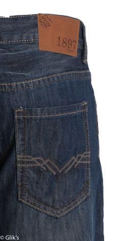 1897 Mens Straight Jeans –Dark Wash GLT8854G