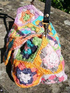 pochette hexagones crochet 004