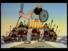 The Story Of David And Goliath ( Christian Animated Cartoon Movie)