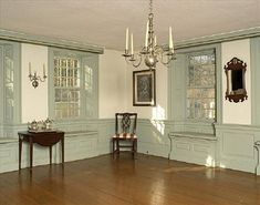 Early American Colonial Interiors | Projects : Early American Floorcloths