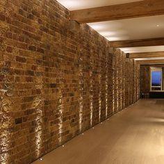 uplight a brick wall - Google Search