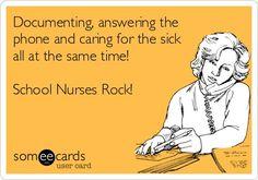 School Nurses Rock!