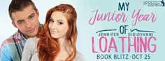♥Enter the #giveaway for a chance to win a $5 GC♥ StarAngels' Reviews: Book Blitz ♥ My Junior Year of Loathing by Jennife...