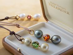 Pearl & Gemstone Pendants
