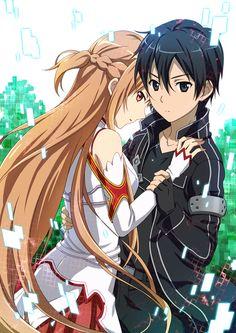Asuna+Kirito - Sword Art Online