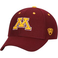 los angeles 537c2 ec13f Minnesota Golden Gophers Top of the World Top Dynasty Fitted Hat – Maroon