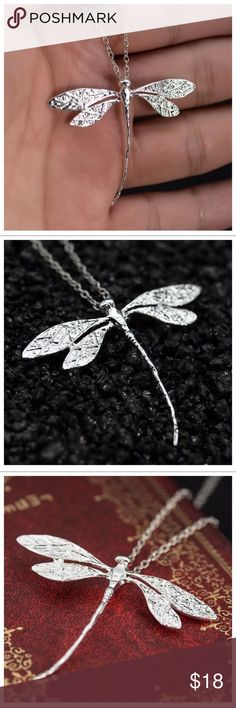 925 silver dragonfly charm Silver 925 dragonfly charm only. Necklace not included Jewelry Necklaces
