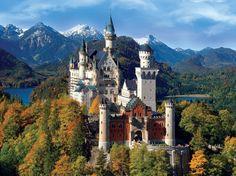 Neuschwanstein Castle | Neuschwanstein castle, Germany