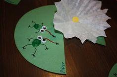Frog thumb prints